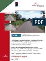Road document