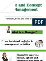 Nature and Concept of Management [Autosaved]