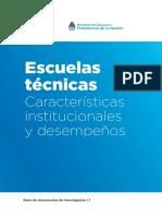 Escuelas Tenicas Caracteristicas Institucionales y Desempenos Web a4 Simple
