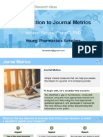 YPS Introduction to Journal Metrics