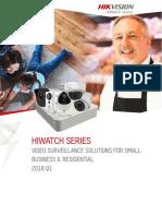 Hikvision 2018 Q1 Europe HiWatch Series Catalog