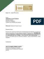 PL 120-18 Codigo de Etica Fonoaudiologia