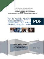 Estrategias de Organizacion Para Las Escuelas Compensadas. Michoacan