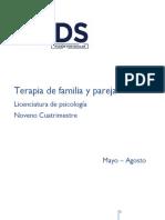 Antologia Terapia Familiar y de Pareja
