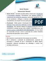 13. Administração Tributária SOPROCURADORIAS