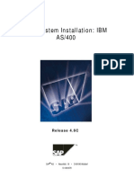 Installation SAP R3 46C AS400 DB2