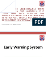 01. Early Warning System
