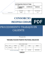 CD.sg.S..P. 2 Procedimiento de Trabajos en Caliente INCOFISA CODURSA