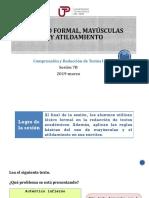 7B-10000N01I Léxico formal, mayúsculas y atildamiento (diapositivas) 2019-marzo.pptx