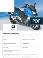 Manual Del Propietario BMW C600 SPORT MODELO 201 5