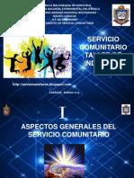 Taller Inducción del Servicio Comunitario UNEFANB Caracas  2019-I