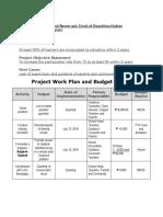 7 Project Plan