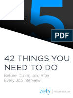 42 Things You Need to Do Before During and After Every Interview