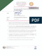 Regional Memorandum NO. 401 S. 2019