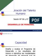 Diapos sesión 06 y 07 Desarrollo de personal.ppt