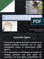 Módulo XV - Concreto Ligero, Lanzado y Contracción Compensada