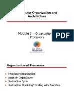 Module 3 -Organisation of Processor