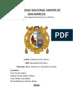 Trabajo de centrales eléctricas 1 - ingeniero Cervantes UNMSM