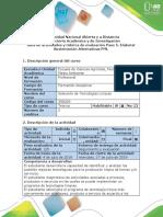 Guía de Actividades y Rúbrica de Evaluación - Paso 5 - Elaborar Sustentación Alternativas PML (1)