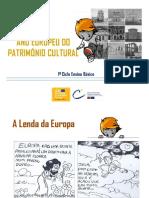 2018 Ano Europeu Do Patrimonio Cultural 1º Ciclo