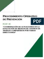 Pop019-Coordinacion Actuaciones Evaluacion de Riesgos Ct