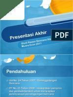 Presentation Muaraenim