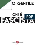 Giovanni Gentile - Chi è fascista