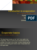 Introduction to Evaporation - Food1040 No Pictures (1)