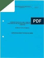 3.- Especificaciones Tecnicas de Obra