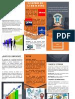 Comercio y Organizaciones Comerciales - Triptico