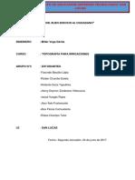 Informe i 2017 Irrigaciones