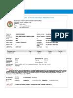Ongolu Ticket