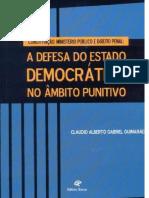 TESE DE DOUTORADO - UFPE (2004) - Constituição, Ministério Público e Direito Penal