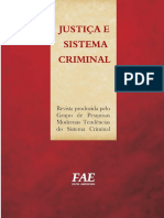 Reflexões Acerca Do Controle Social Formal - Rediscutindo Os Fundamentos Do Direito de Punir