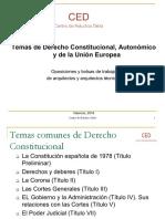 1 Derecho Constitucional. Tema 1