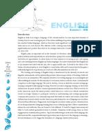 Cbse Syllabus English i II III IV V