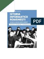 Istoria Informaticii Românești Vol. I&II - Prefața