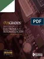 MAESTRIA ELECTRONICA Y AUTOMATIZACION