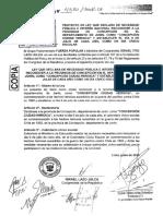 """Congresista Israel Lazo - Ley N° 4550, que declara a la provincia de Concepción – región Junín, como """"Concepción, Ciudad Heroica"""". Asimismo, incorporar el día 9 de julio de cada año, en el calendario Cívico Escolar."""