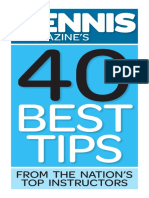 Tennis Magazines 40 Best Tips