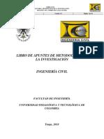 Apuntes metodología de la investigación, UPTC