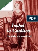 Isabel la Católica - Su vida de santidad
