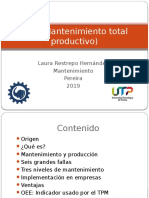TPM (Mantenimiento Total Productivo)