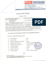 Nandpur Mairi Road M-15 Mix Design of Concrete