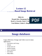 Lecture 12 - Content-based Image Retrieval