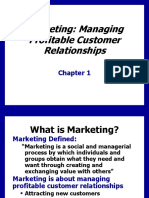Core Marketing Management concept
