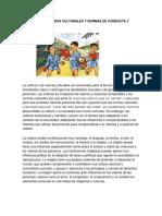 Convenciones Modos Culturales y Normas de Conducta y Cortesía