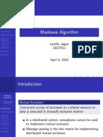 Maekawa Algorithm