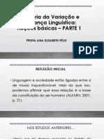 teoria da variação linguística