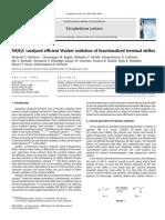 Pd(0)/C catalyzed efficient Wacker oxidation of functionalized terminal olefins